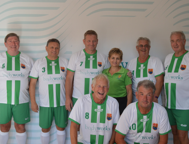 Bodyworks Sponser Walking Football Spain