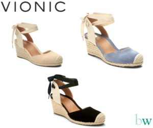 Vionic Maris Wedges at Bodyworks