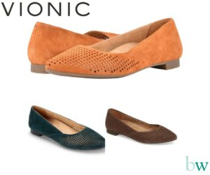 Vionic Posey Flats at Bodyworks