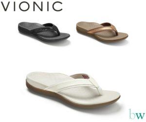 Vionic Islander Flip Flops at Bodyworks