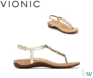 Vionic Paulie Sandals at Bodyworks