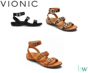 Vionic Safari Sandals at Bodyworks