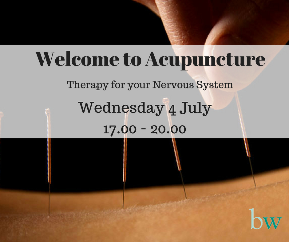 Welcome to Acupuncture Evening