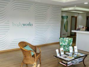 Bodyworks Clinic Reception at La Colonia