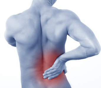 Physiotherapy to treat back pain