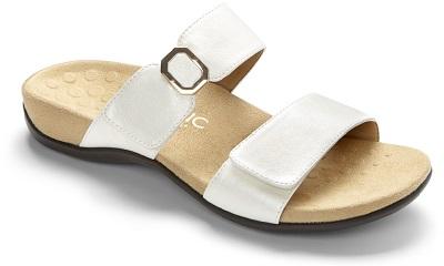 Vionic Orthotic Sandal - Camila in white