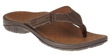Vionic Orthotic Sandal for men - Harbour in brown