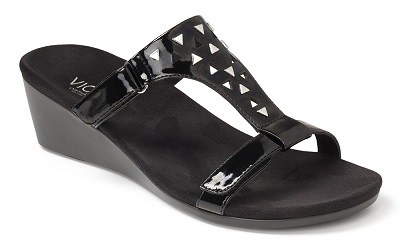 Vionic Orthotic Sandals - Maggie in black