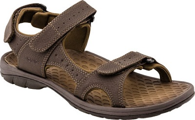 Vionic Orthotic Sandal for men - Mick in brown