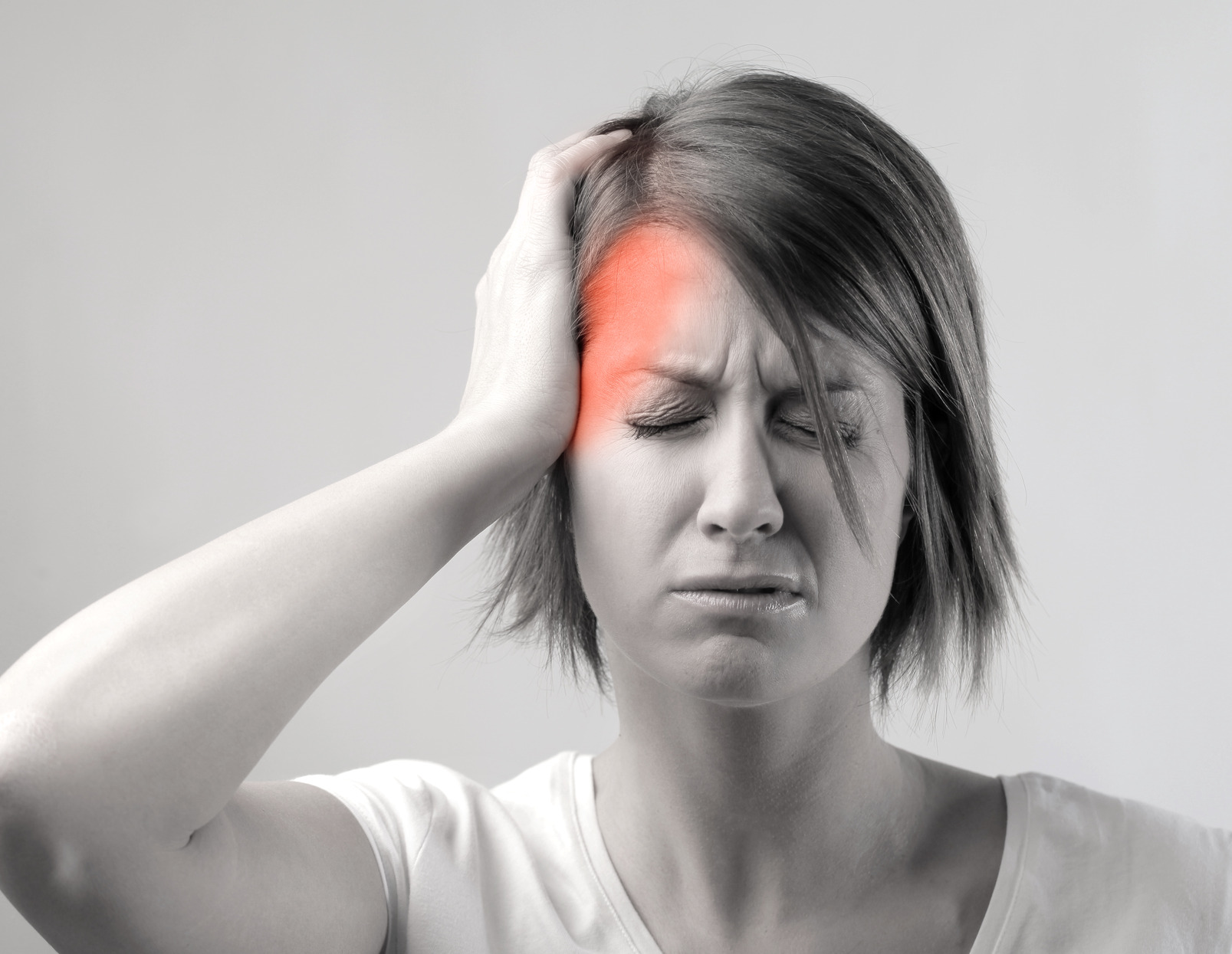 Migraines - caused by neck pain.