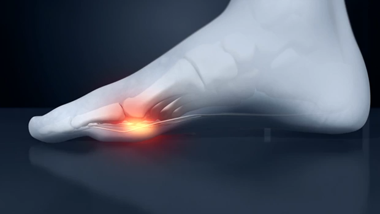 Relieve the pressure on the base of the big toe and resolve the problem.