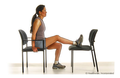 Getting the knee straight is CRITICAL for knee problems
