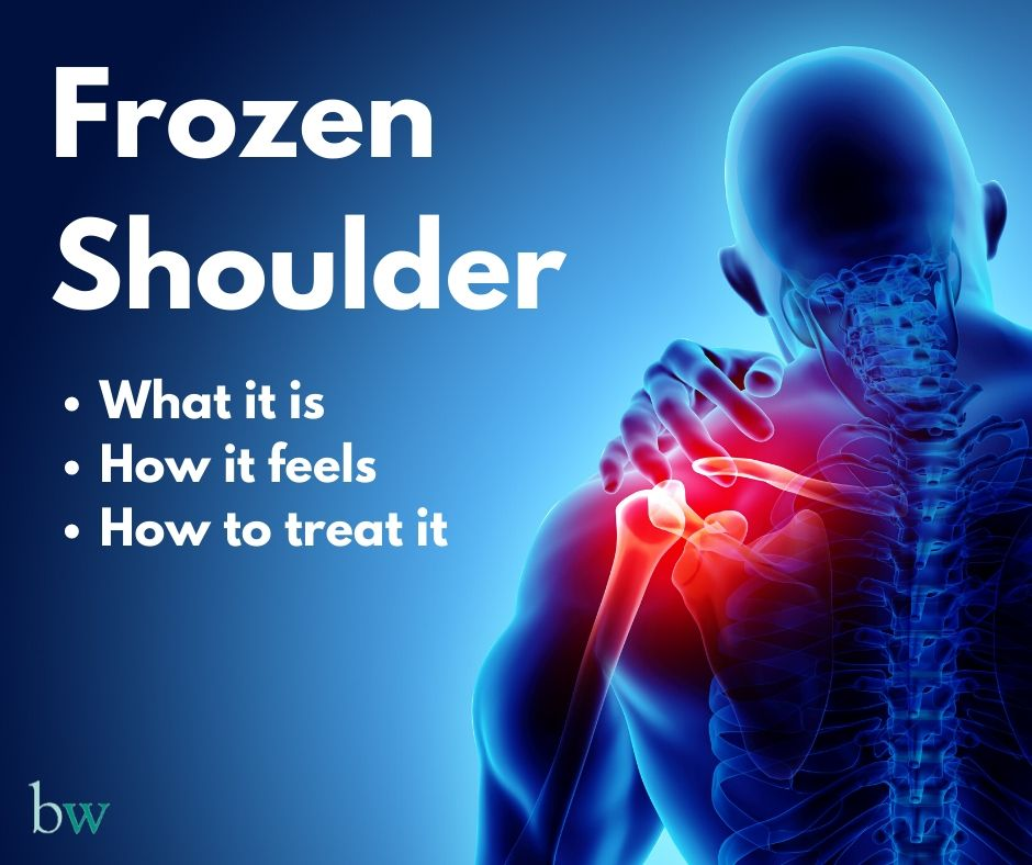 Frozen Shoulder Treatment at Bodyworks Clinic Marbella