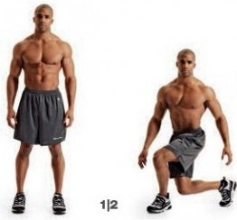 Crossover Lunge for Ski fitness