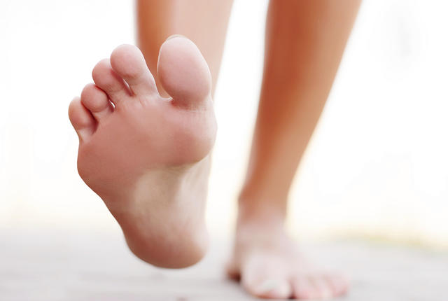 Plantar Fasciitis - pain underneath the foot