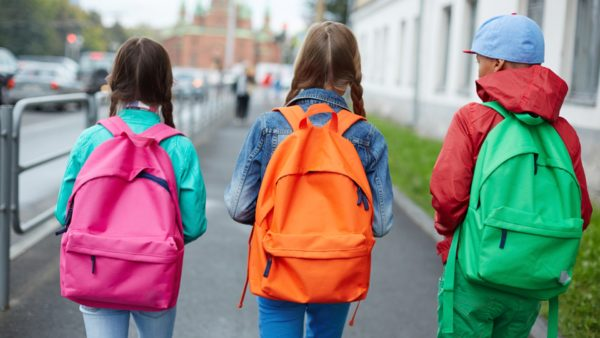 Backpack or Back pain for kids