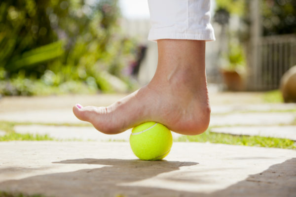 Top tips for things to do with a tennis ball!