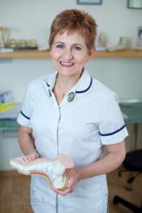 Estelle Mitchell, Chartered Physiotherapist, MCSP