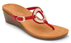 Vionic Orchid Flip Flop with heel