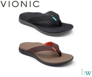 Vionic Men's Islander Sandals at Bodyworks