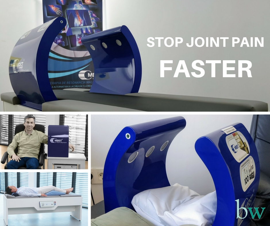 STOP JOINT PAIN with Magnetic Resonance Therapy (MBST / MRT) at Bodyworks