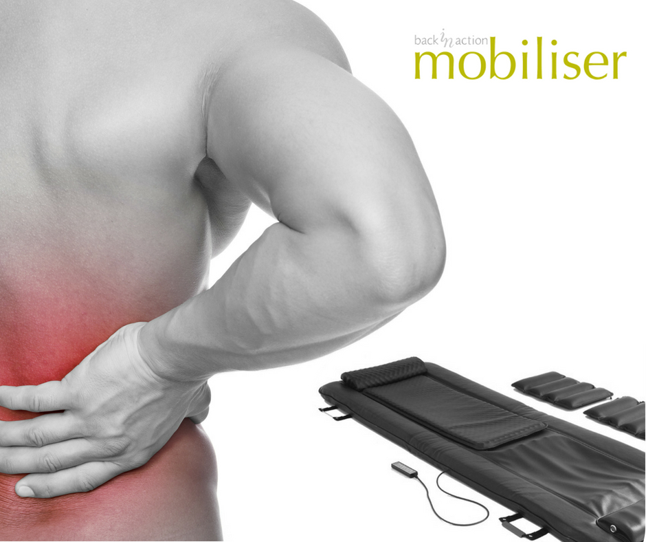 Mobiliser spinal activation system available at Bodyworks Clinic Marbella