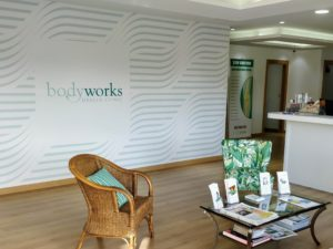 Bodyworks Clinic Reception at La Colonia