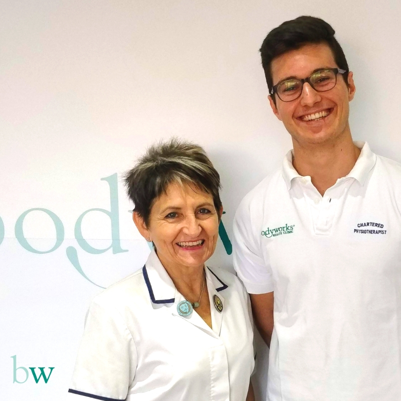 Jose and Estelle - our team of physiotherapists