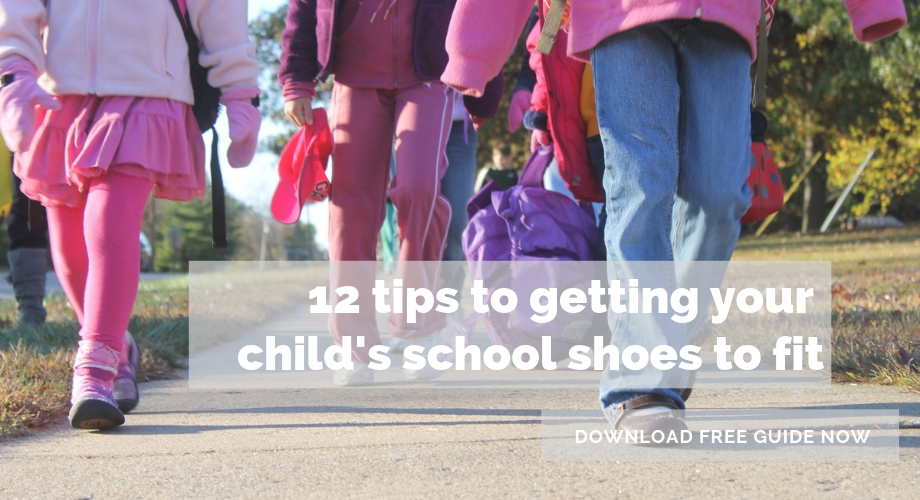 12 tips for getting your child's school shoes to fit