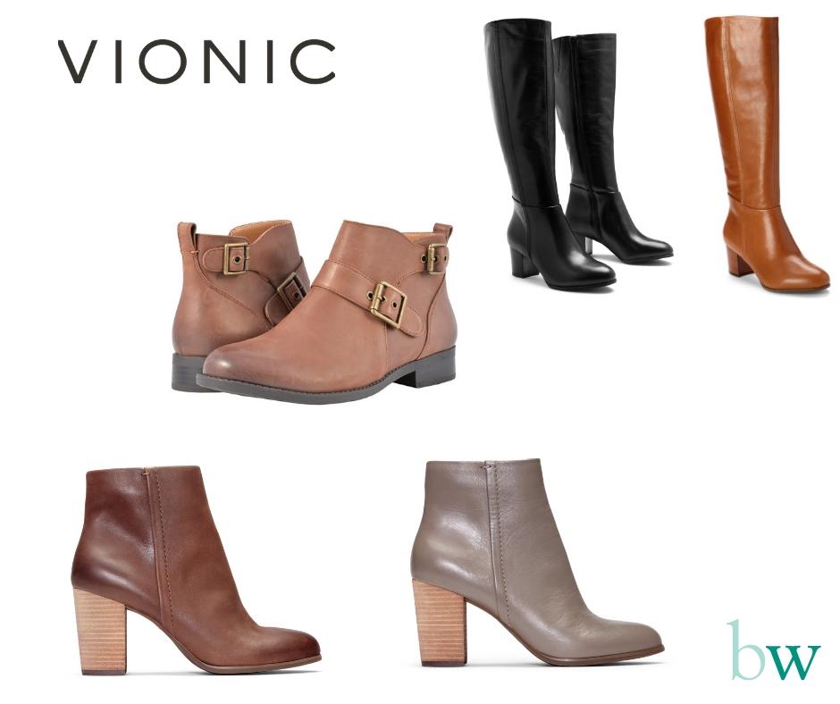 Vionic Shoe Sale - Bodyworks Clinic Marbella - Various Boots