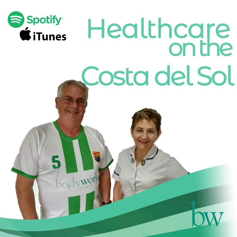 Healthcare on the Costa del Sol Podcast - Episode 2 - Walking Football