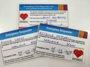 Bodyworks Team First Aid Certificates