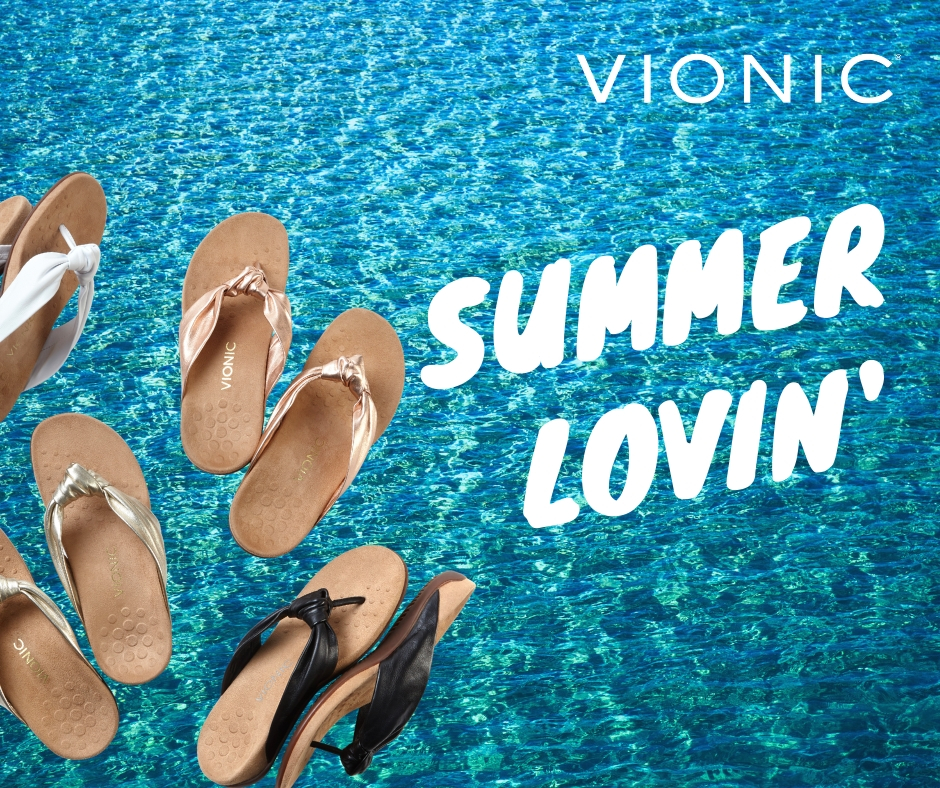 Vionic Summer Shoes and Sandals at Bodyworks Marbella 2019