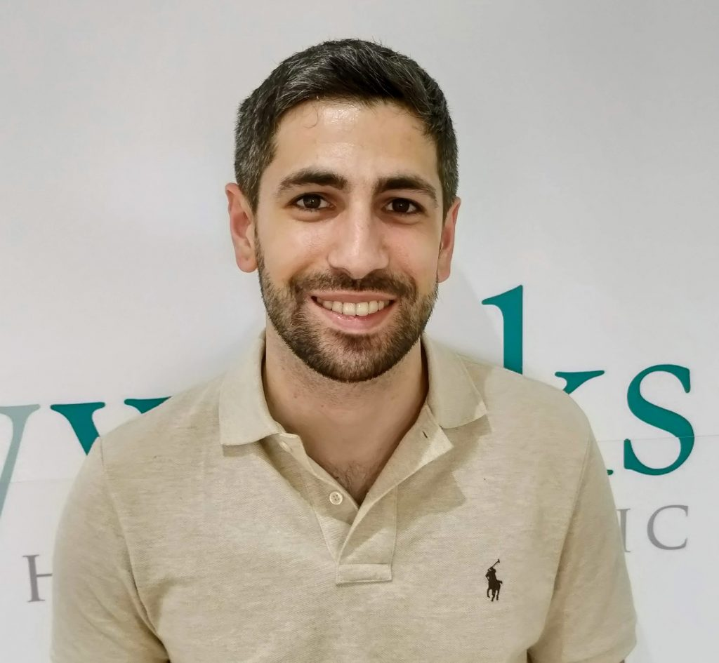 Ilyes Chateigner - physiotherapist at Bodyworks Clinic Marbella