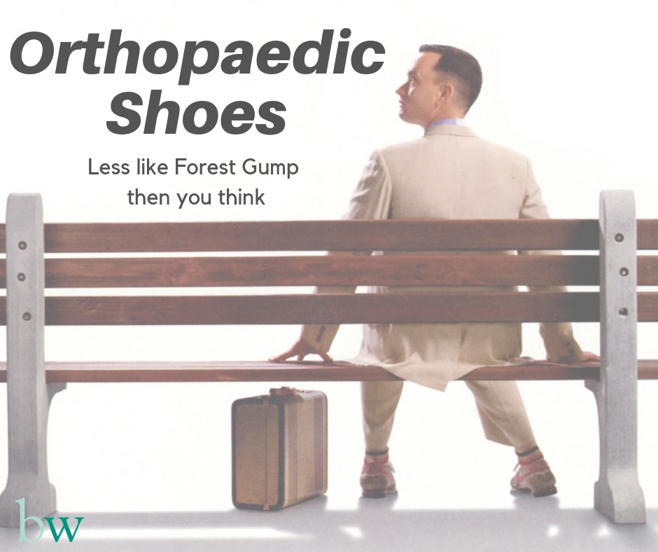 Orhtopaedic Shoes - beyond Forest Gump and into the 21st Century
