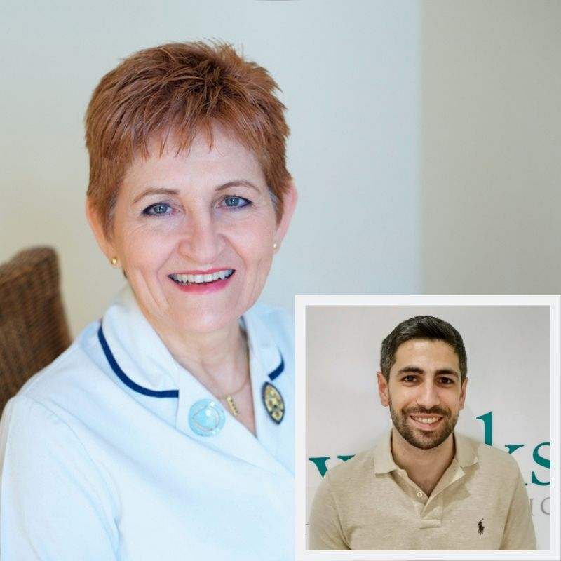 Our Physiotherapy Team led by Estelle Mitchel