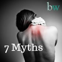 7 myths about back pain by Estelle Mitchell Consultant Physiotherpist at Bodyworks Clinic Marbella