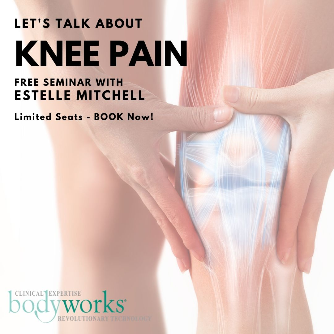 Knee Pain Seminar with Knee Specialist Estelle Mitchell at Bodyworks Marbella