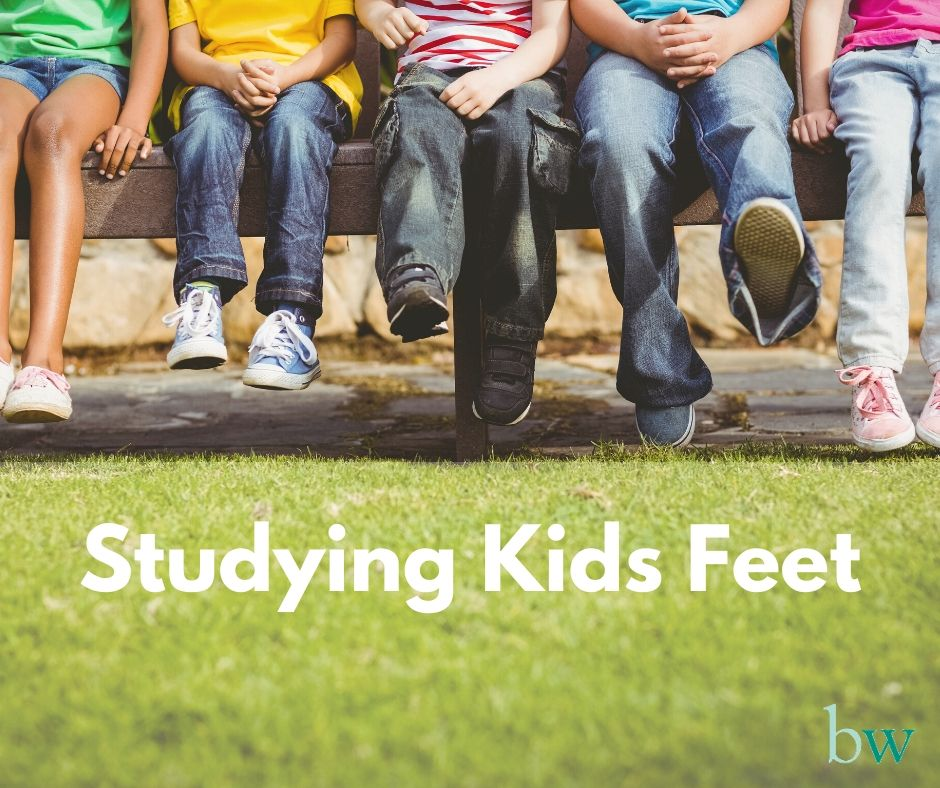 Studying and supporting Kids Feet at Bodyworks Spain