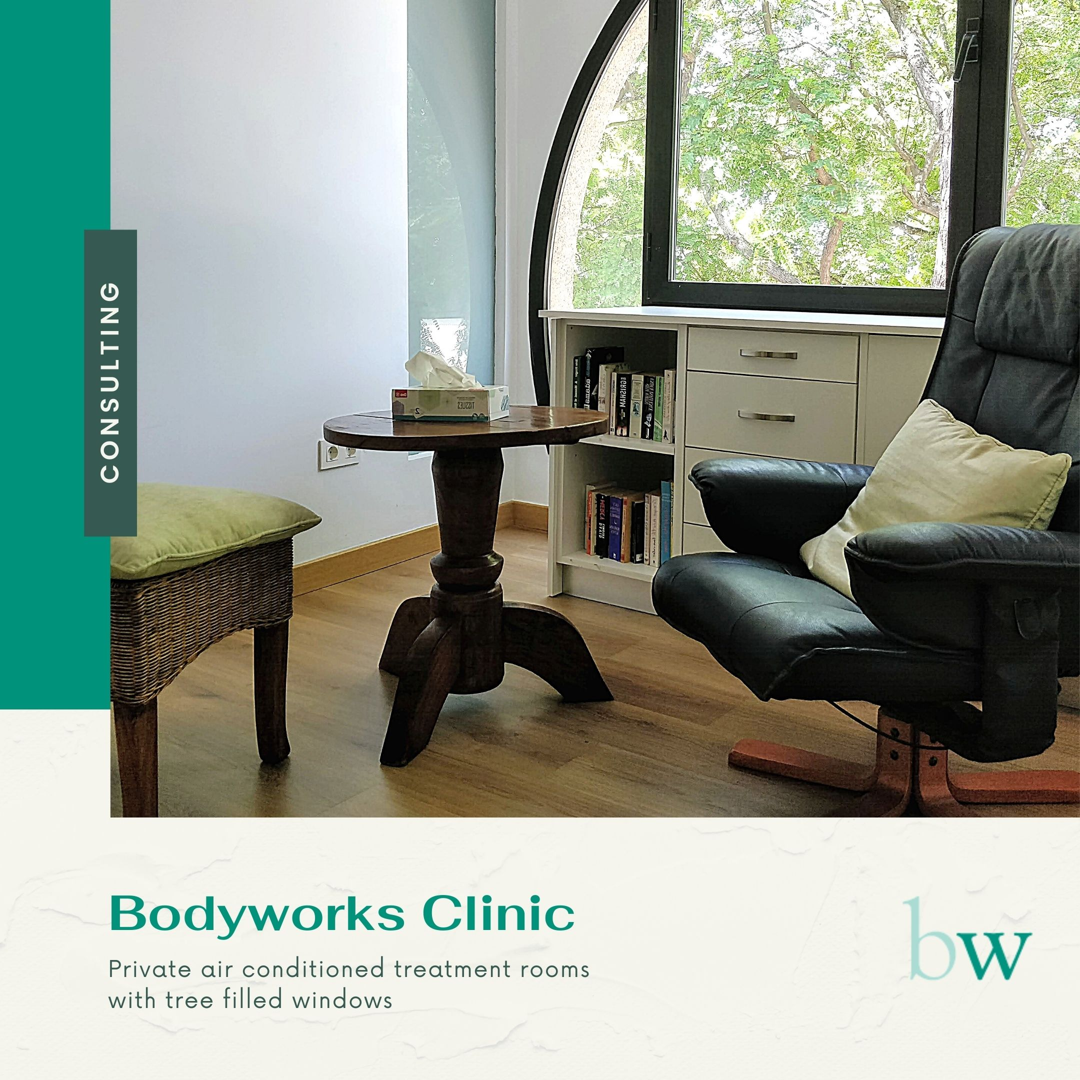 Private Consulting Room at Bodyworks Clinic Marbella