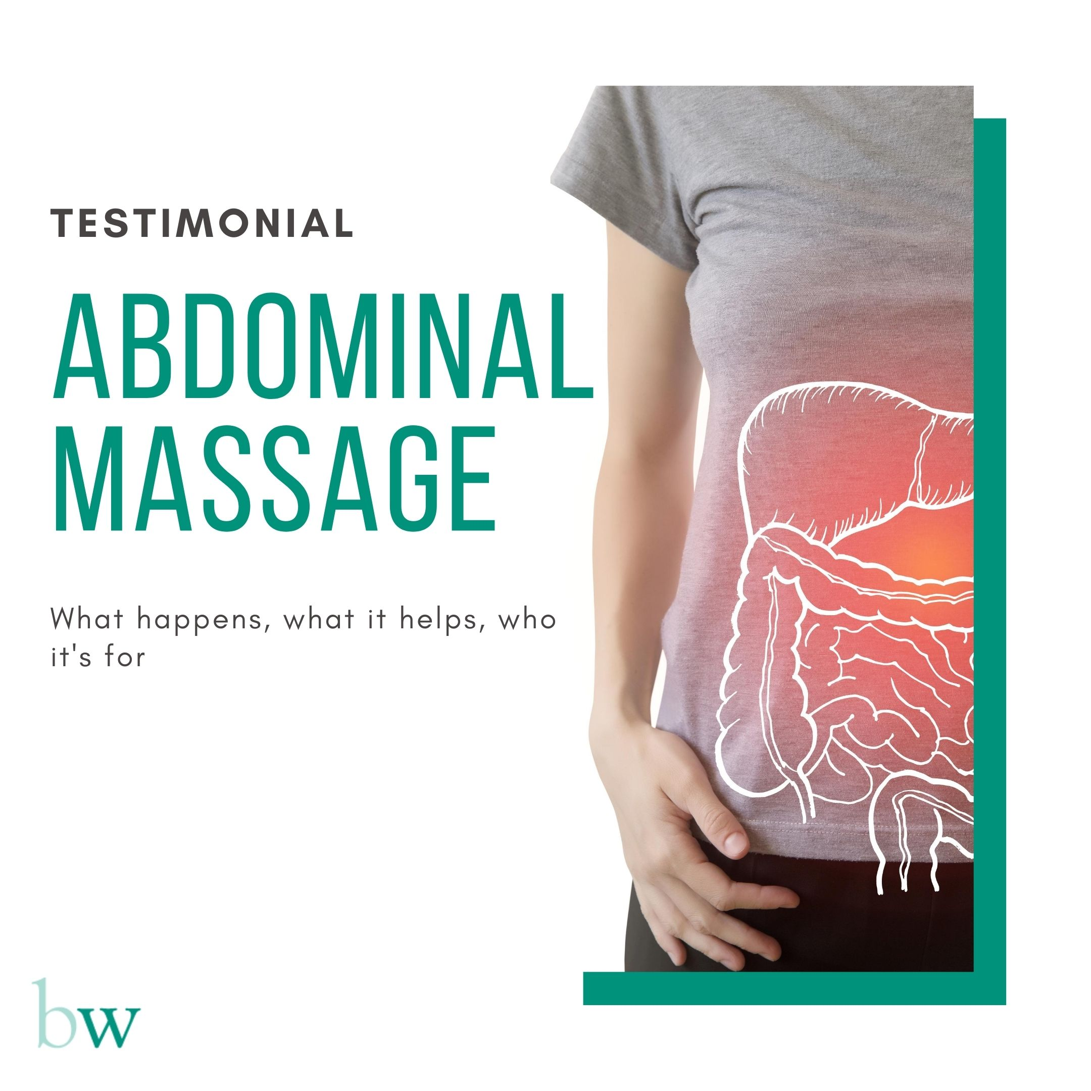 Abdominal Massage Testimonial at Bodyworks Clinic Marbella