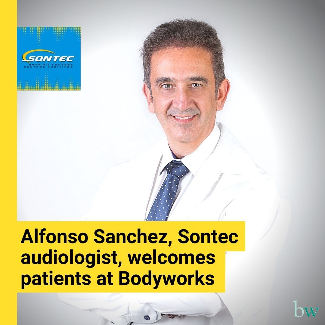 Alfonso Sanchez from Sontec welcomes patients at Bodyworks