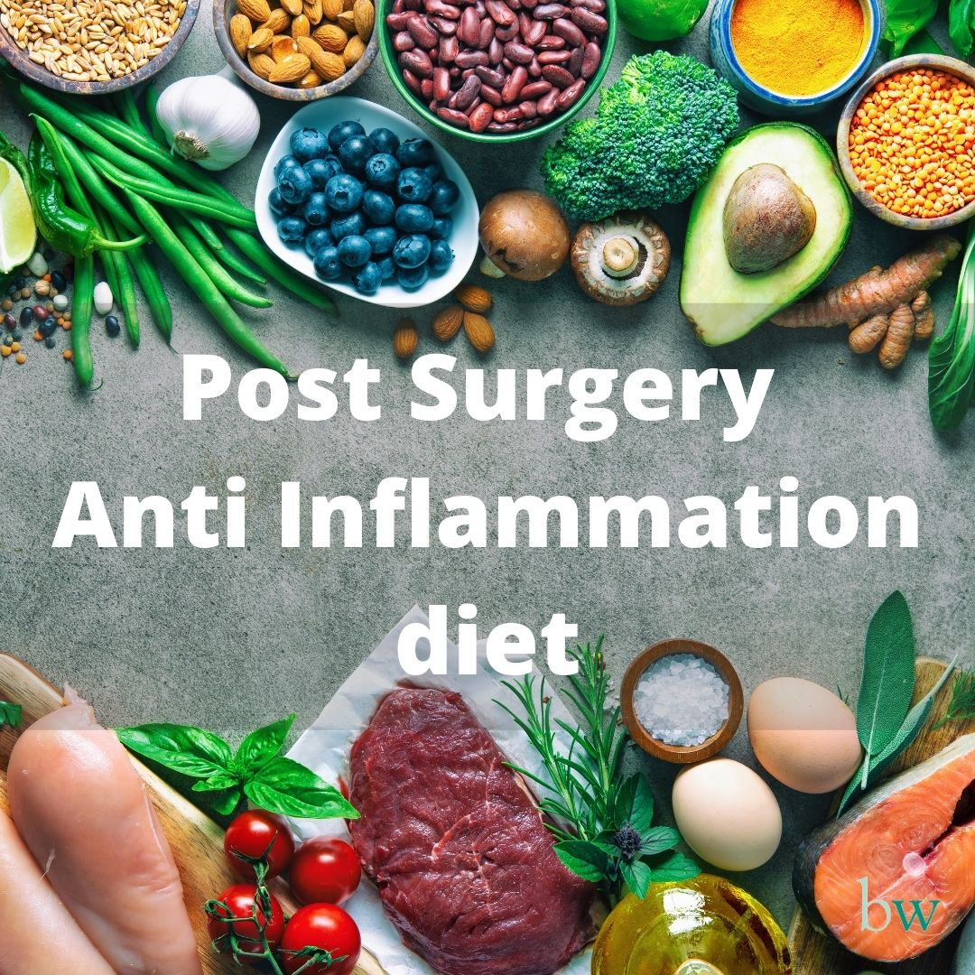 Post Surgery Anti Inflammation Diet at Bodyworks Clinic Marbella