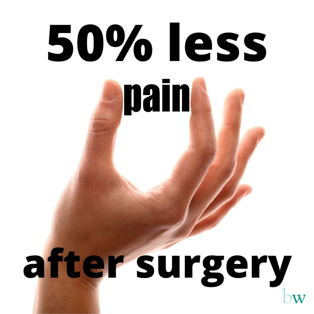 Reduce pain and swelling after surgery by up to 50% at Bodyworks Clinic Marbella